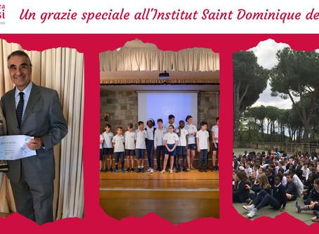 Un grazie speciale all'Institut Saint Dominique de Rome
