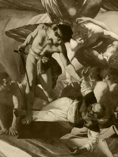 THE MARTYRDOM OF SAINT MATTHEW - Sepia