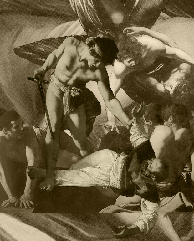 THE MARTYRDOM OF SAINT MATTHEW - Sepia