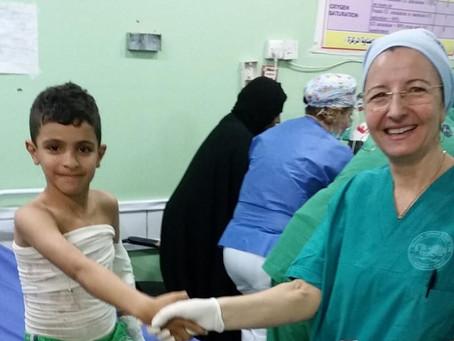 Nicoletta, infermiera dal cuore grande