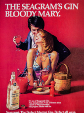 THE SEAGRAM'S GIN BLOODY MARY.