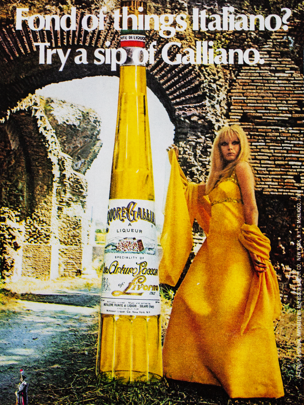 FOND OF THINGS ITALIANO? TRY A SIP OF GALLIANO. N.1