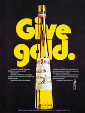 GIVE GOLD. GALLIANO.