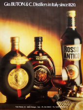 GIO. BUTON & C. DISTILLERS IN ITALY SINCE 1820.