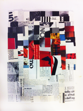 Stochastic collage n.5
