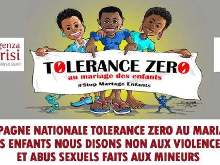 Tolleranza Zero: prosegue in Benin la sensibilizzazione contro il fenomeno delle spose bambine