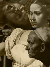 JUDITH & HOLOFERNES - Sepia