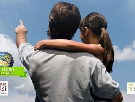 Il futuro è nell'aria, la campagna di Emergenza Sorrisi per ripartenza sostenibile e aria pulita