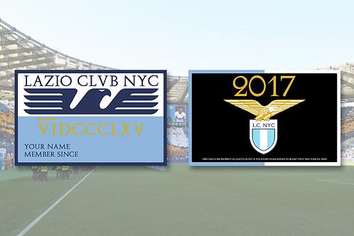 Tessera Lazio Club NYC Premium