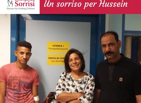 HUSSEIN E' IN ITALIA: UN NUOVO PICCOLO GRANDE MIRACOLO PER EMERGENZA SORRISI! OGGI L'INTERVENT