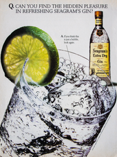 CAN YOU FIND THE HIDDEN PLEASURE IN REFRESHING SEAGRAM'S GIN?