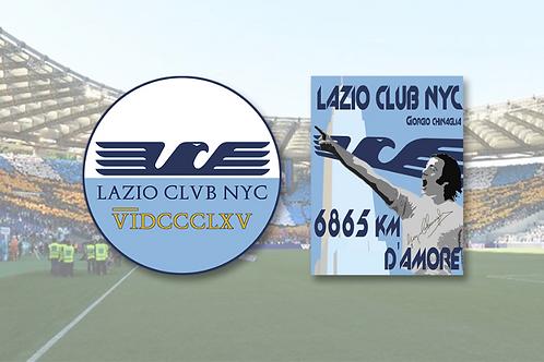 Adesivi Lazio Club NYC