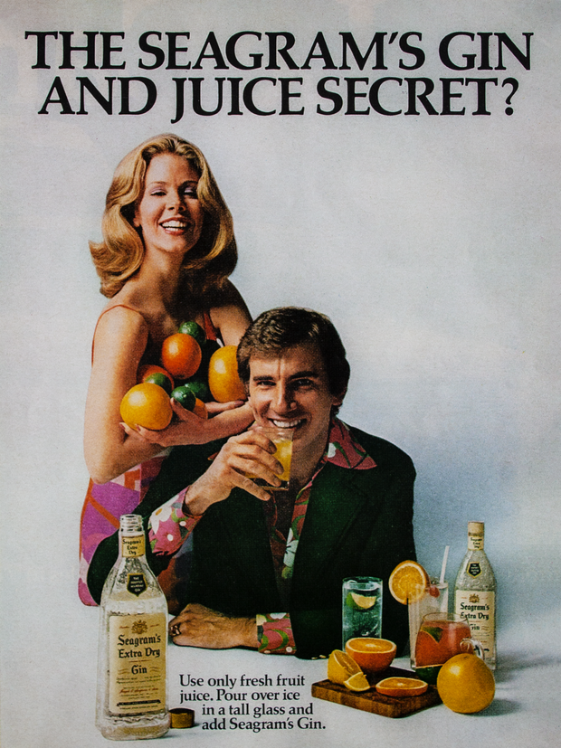 THE SEAGRAM'S GIN AND JUICE SECRET?