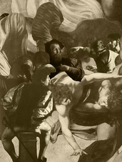 THE CALLING OF SAINT MATTHEW - Sepia