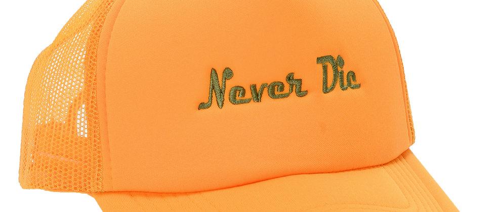 NEVER DIE TRUCKER CAP
