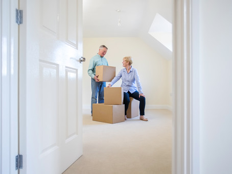 Downsizing Into Your New Journey - Moving List