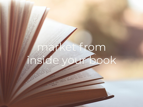 Market from inside your book checklist