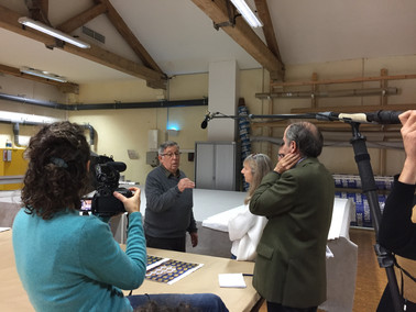 Interview with the artist and the conservator