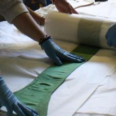Textile rehousing