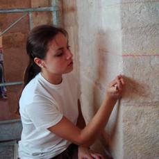 Preparation of the fake stone decor
