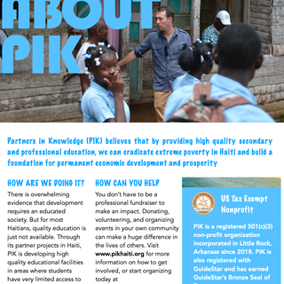 About PIK Handout