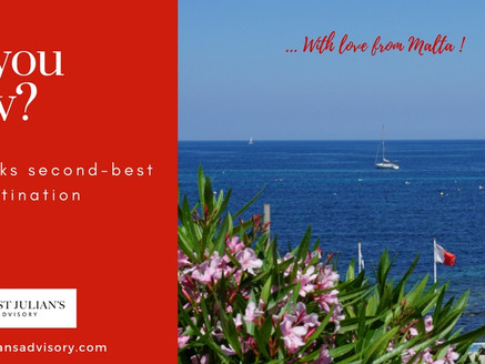 Malta, the smallest island in the Med achieves more...