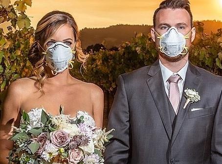 """Il """"Sì lo voglio"""" ai tempi del coronavirus - consigli  pratici e soluzioni per il tuo matrimonio."""