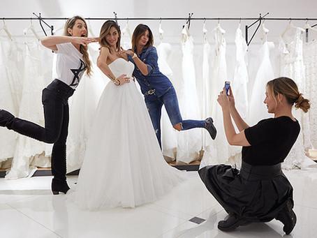 Sei alla ricerca del tuo abito da sposa? Le 7 cose da sapere prima della prova!