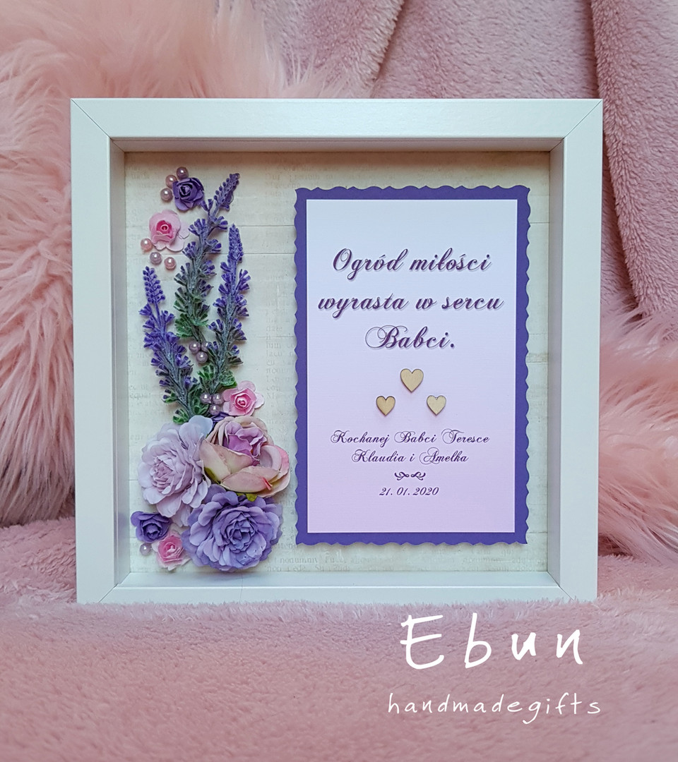 Flowery Frame For Grannie