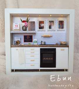 Birthday frame for a cooking lover