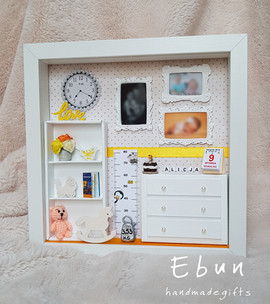 Frame for 3rd birthday