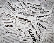 Coronavirus, covid-19 newspaper headline