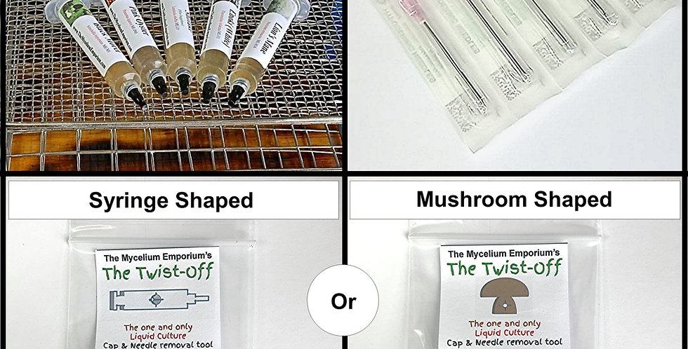 5 Pack of Cultures (Your Choice) + Twist-off Tool