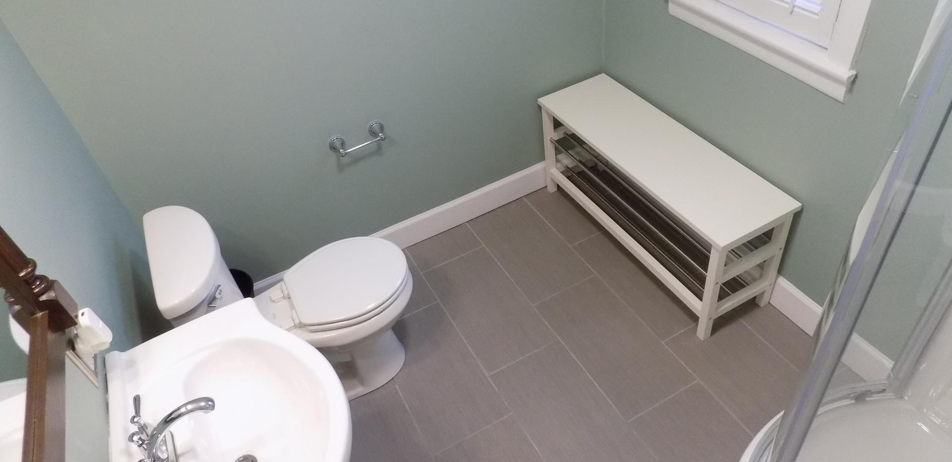 Bathroom B birdseye view