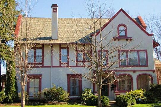 Exterior victorian home