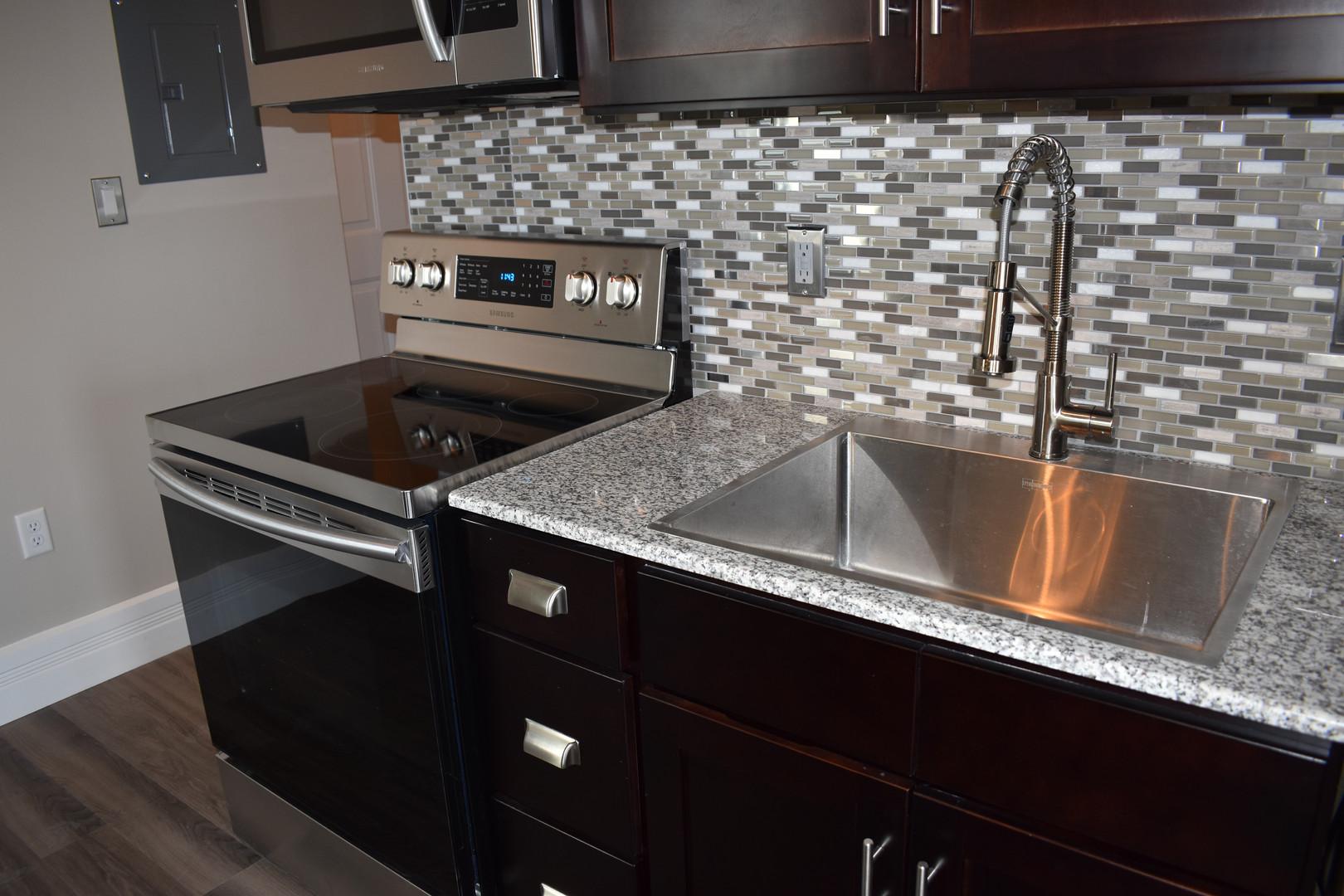 Granite & Glass Tile