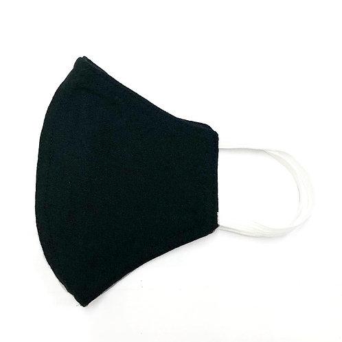 Reusable Face Masks - PACK OF 3 (BLACK)