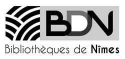 BDN Logo bibliothèque de Nîmes