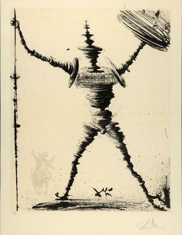 Salvador Dali, Don Quichotte