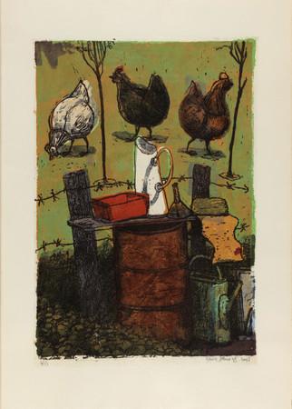 Sylvain Salomovitz, Les trois poules