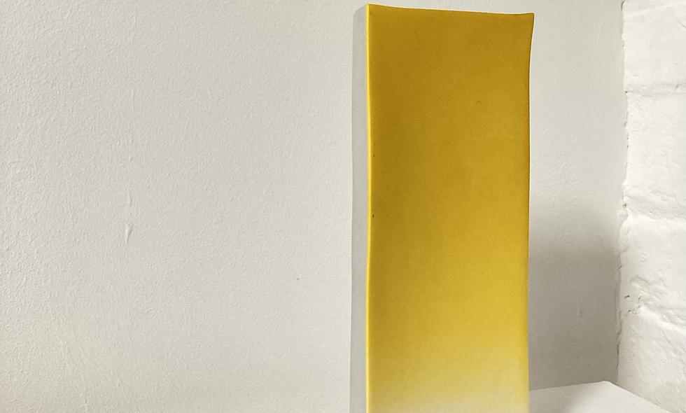 Yellow gradient - grey box