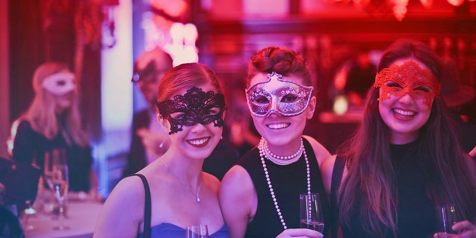 Singles Party London: Secret Soirée Masked Halloween Event