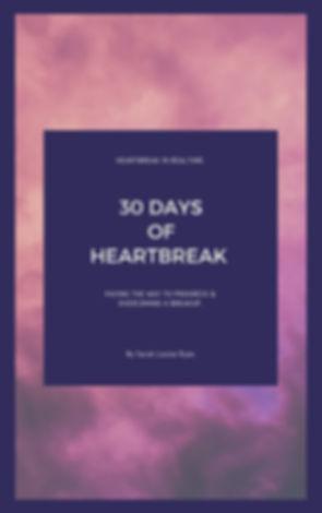 30 Days of Heartbreak _ Sarah Louise Rya