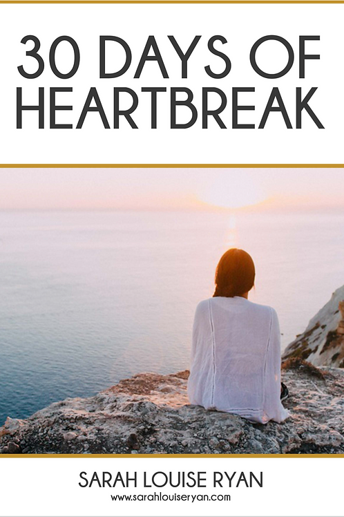 30 Days of Heartbreak Book