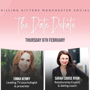 Killing Kittens Panelist: Dating & Relationship Expert Sarah Louise Ryan