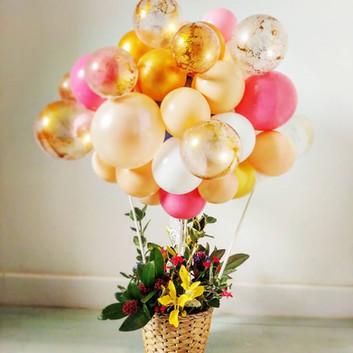 Bouquet la-haut ballon