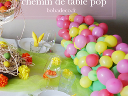 CHEMIN DE TABLE POP !