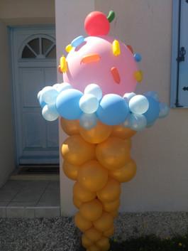 Glace Ballon
