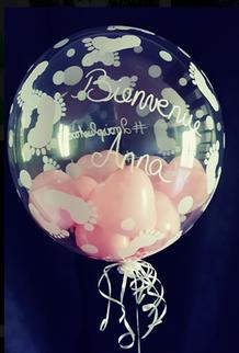 Ballons bubble personnalisé