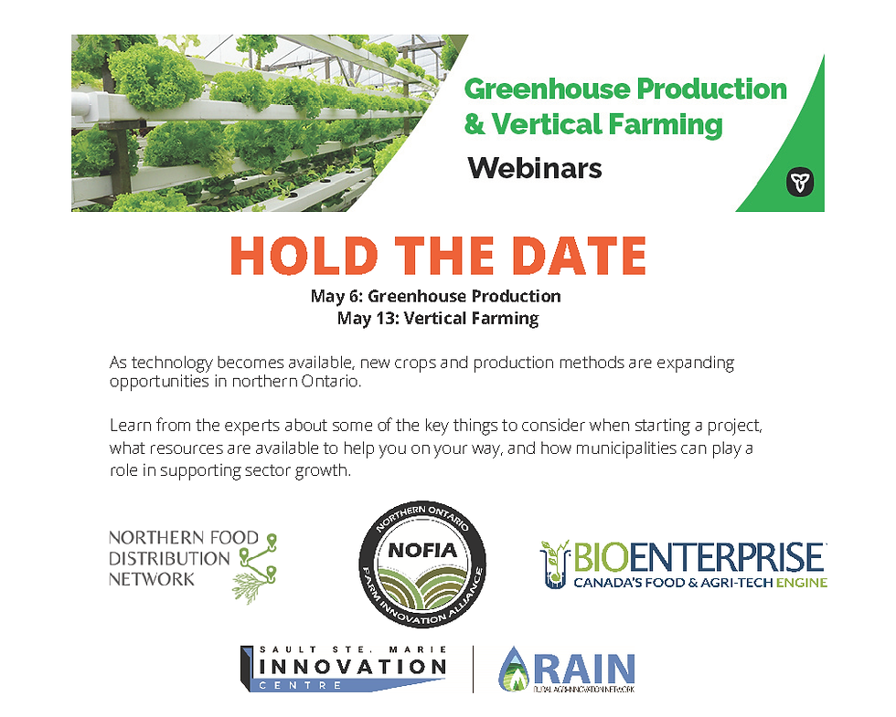 GREENHOUSE PRODUCTION & VERTICAL FARMING